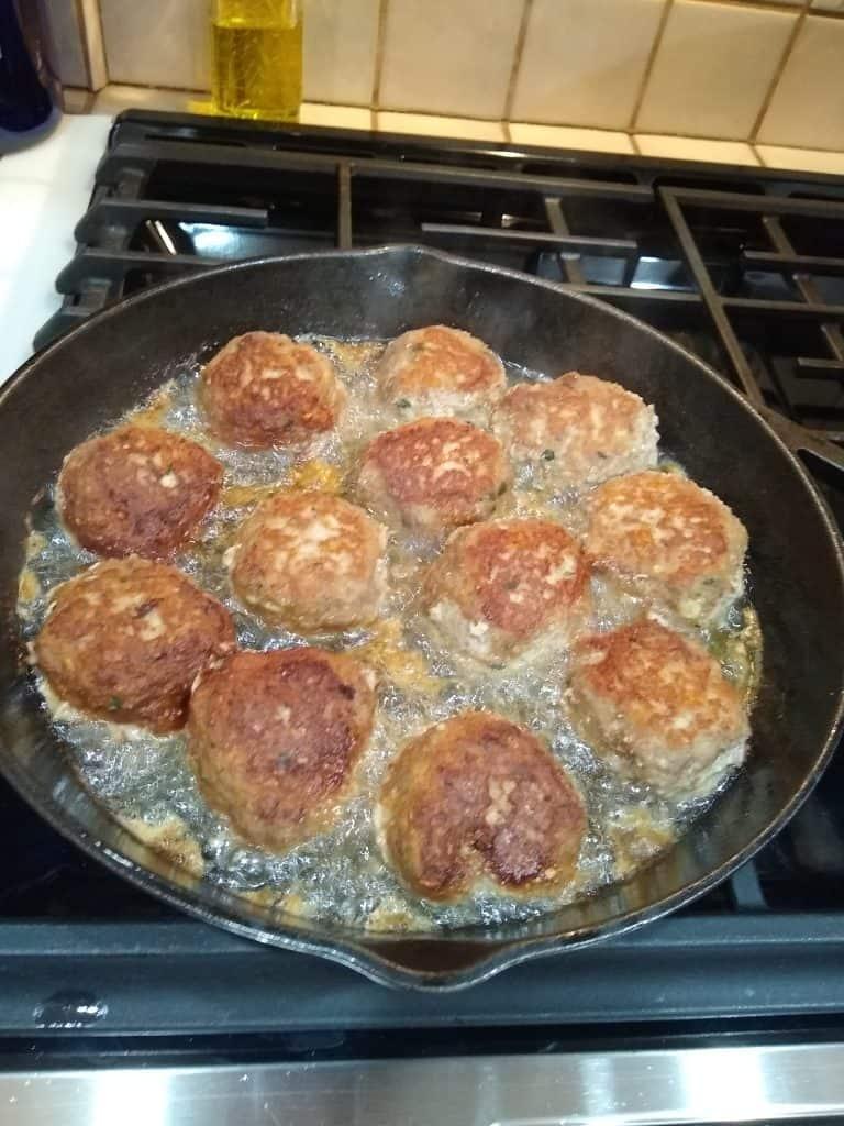 Josie's Sicilian Meatballs
